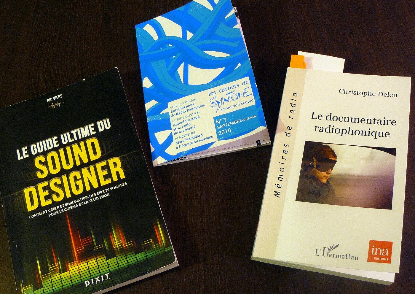 Création sonore: continuons à lire