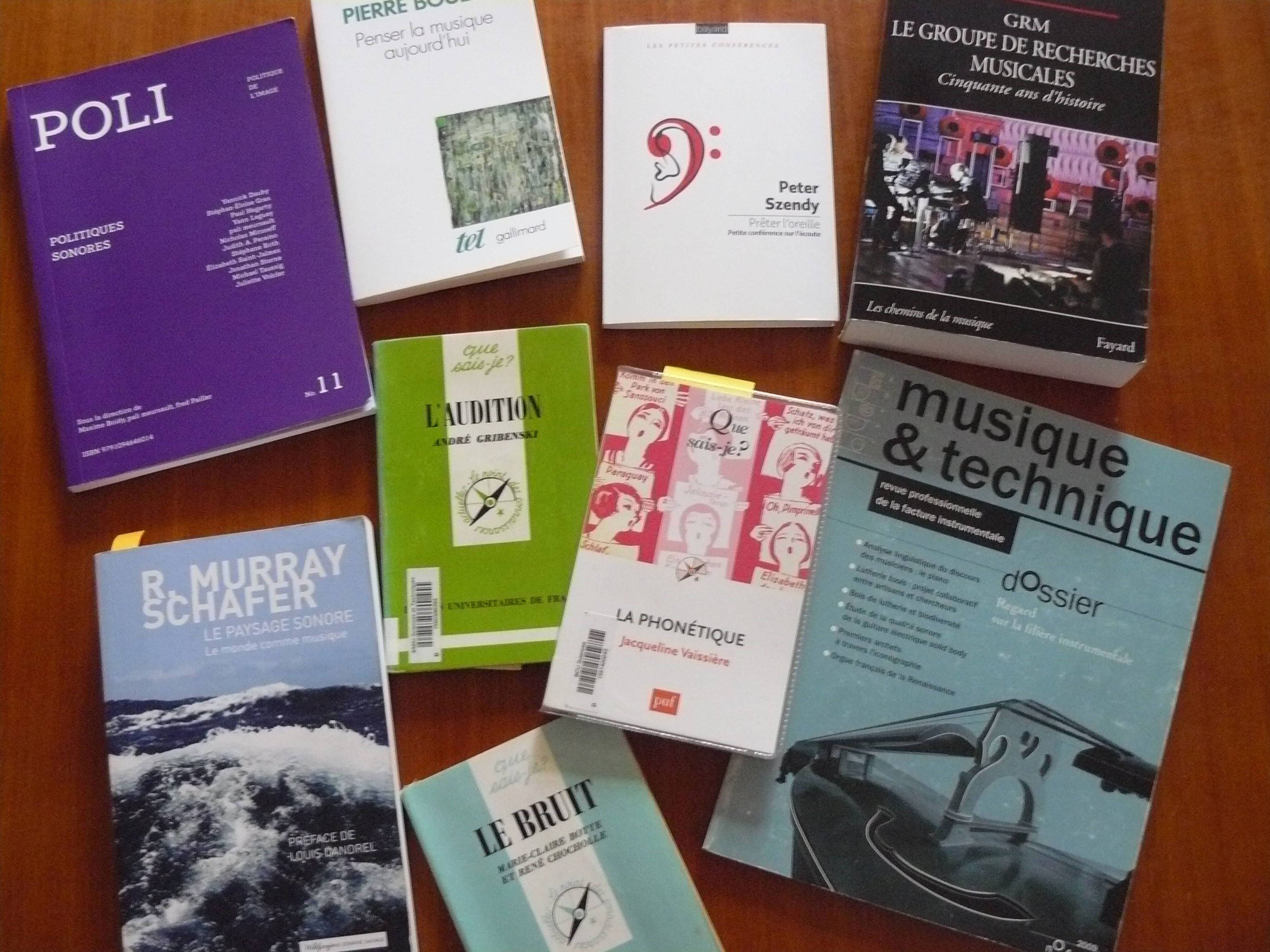 Revue de lecture: bruit, musique, sociologie