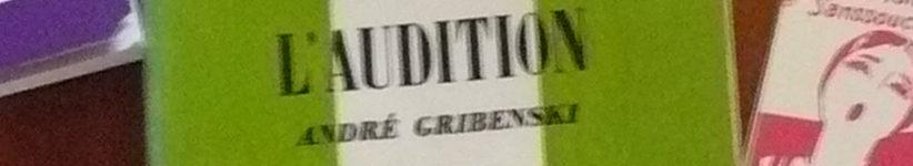 Une partie de la couverture du que sais-je sur l'audition