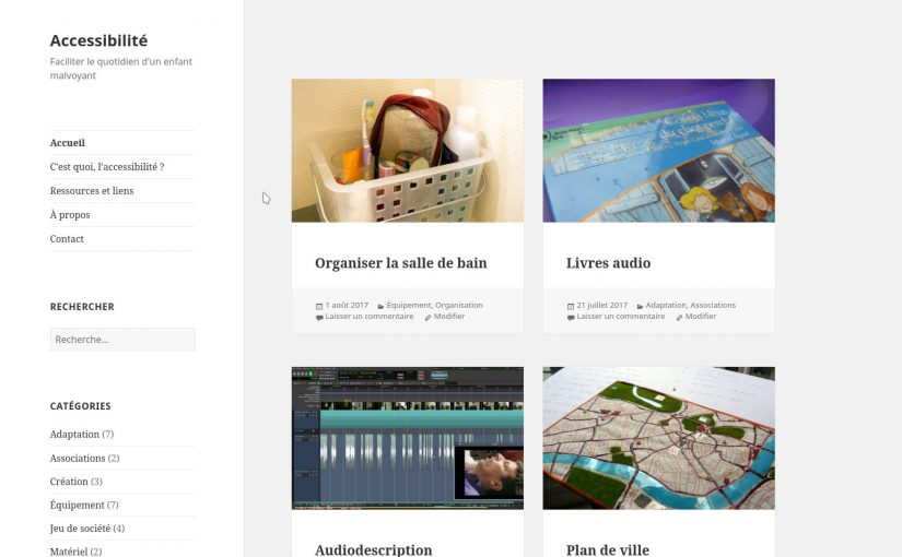 Blog accessibilité