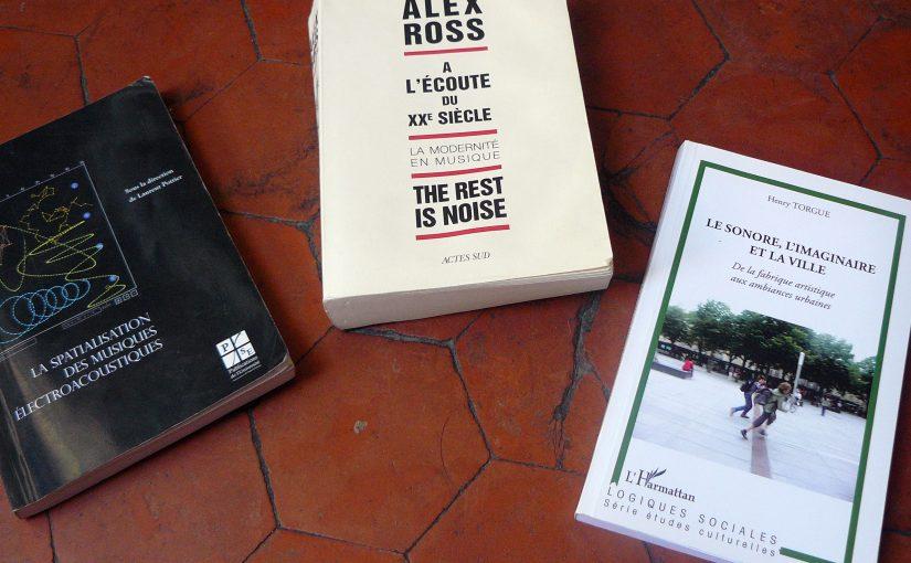 Revue de lecture: son, espaces et histoire du XXe siècle