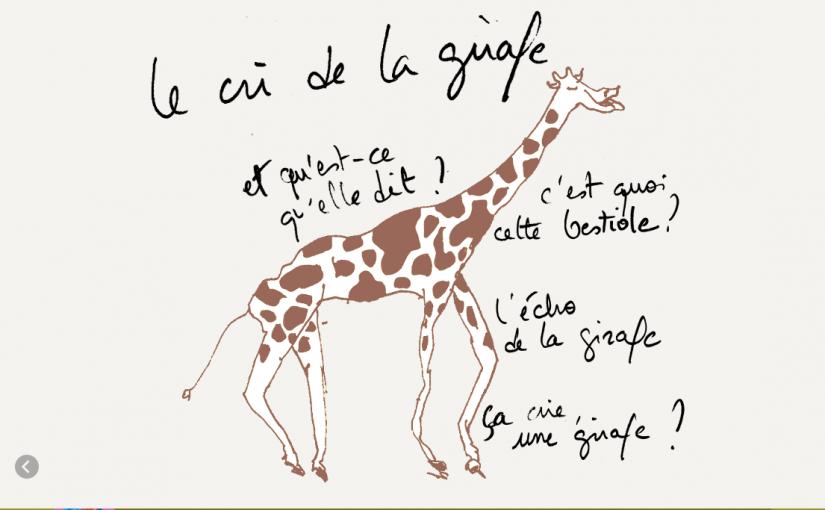Je suis une giraphone