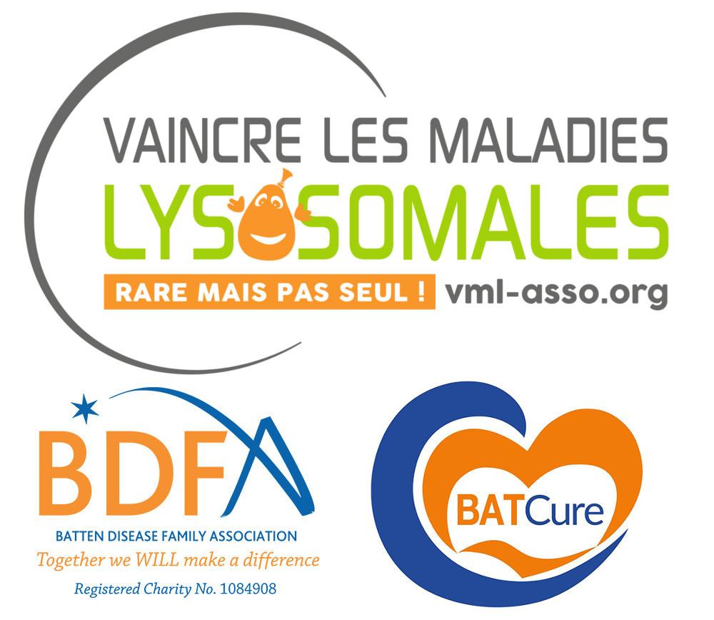 Sur cette image, on retrouve les logos de VML, BDFA et BATCure.