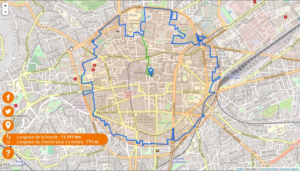 Promenade circulaire sur unkm.fr