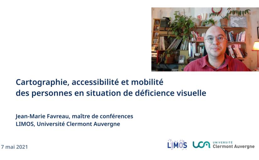 Compas: Cartographie et Outils Multisensoriels Pour l'Accessibilité Spatiale